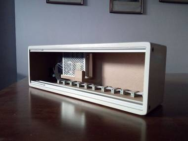 Eurorack case per moduli 3u powered white