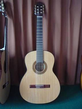 Chitarra classica artigianale modello Duebis