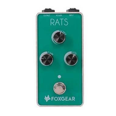FOXGEAR RATS VINTAGE DISTORSION  PEDALE DISTORSORE / Overdrive