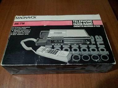 Magnavox segreteria telefonica analogica a cassette