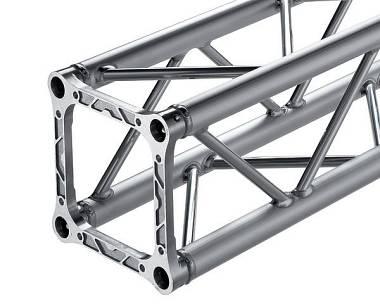 Alutek S29Q 250 - traliccio alluminio quadro 29x29 cm. lunghezza 250 cm.