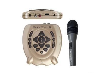 M Live OKYFLY3 PLUS -KARAOKE-Microfono incluso