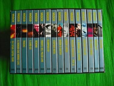 Vasco Rossi Box 7 cd 7 Dvd 2 Book