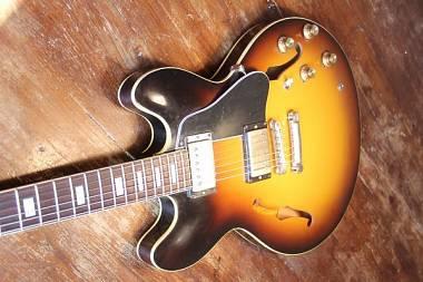 Gibson 1963 ES 335; TD 2016 VOS Historic burst