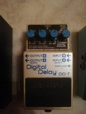Boss Dd7 digital delay spedizione inclusa