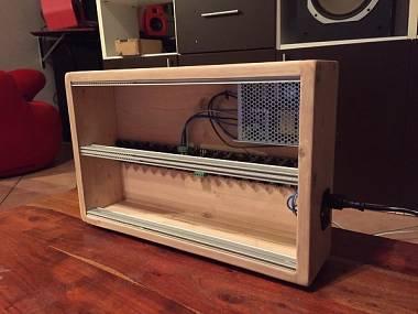 Case Eurorack 84hp 6U powered