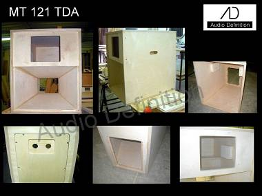 "AUDIO DEFINITION P.A. ""MT 121-TDA"" 12""+2"""