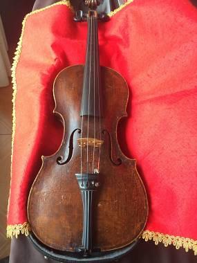 Splendido violino tedesco 4/4 antico di liuteria