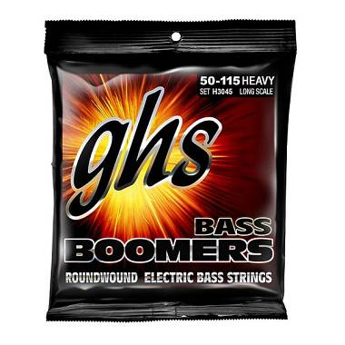 GHS GHS-H3045 Bass Boomers - Heavy - Standard Long Scale 50-115