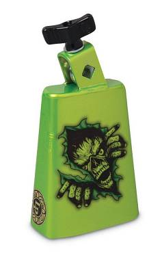 """Latin Percussion COW BELLS 5"""" COLLECTION Zombie Green LP204C-ZMG"""