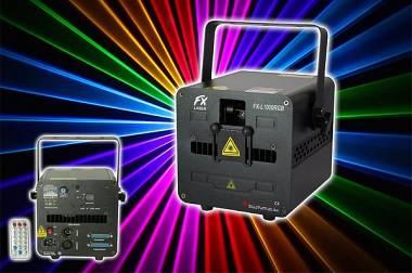 LASER FX-LASER L1000RGB - 1 W MULTICOLOR - DMX/ILDA