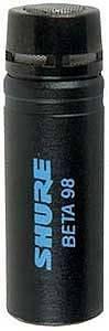 SHURE BETA 98 S MICROFONO A CONDENSATORE PER TOM