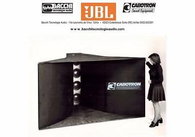 "Cabotron TB415 Jbl bass 4x15"""