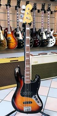 Fender Vintera 70s Jazz Bass Guitar PF 3-Color Sunburst MIM 0149643300