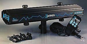 X-Power completo di par 56 alluminio e lampade 220 v-300 w
