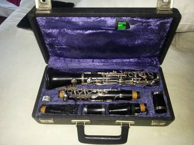 """Clarinetto in Si b """" PUCHNER"""" n.7  sistema Tedesco Muller"""