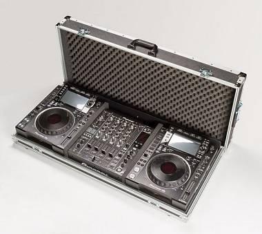 FLIGHTCASE DJ per lettori PIONEER CDJ 850-K + mixer DJM 850-K