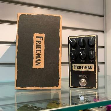 Friedman Amplification BE OD Brown Eye Overdrive PARI AL NUOVO