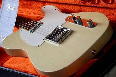 Fender Telecaster Masterbuilt Brazilian 62 Y. Shishkov
