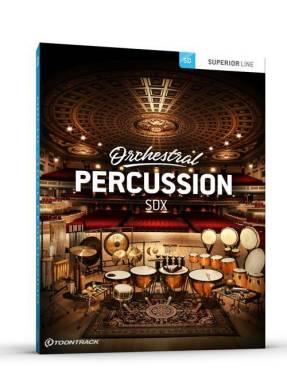 TOONTRACK ORCHESTRAL PERCUSSION SDX SUONI PER VIRTUAL INSTRUMENTS