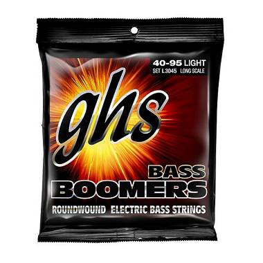 GHS GHS-L3045 Bass Boomers - Light - Standard Long Scale 40-95
