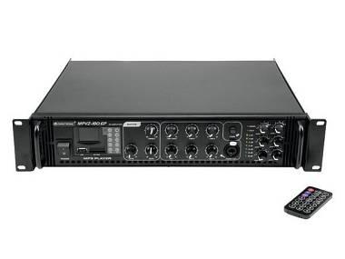 Omnitronic MPVZ-180.6P Amplificatore mono 6 zone commutabili 180W MP3 OFFERTA