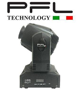 Testa Mobile Spot Led 60 W  PFL TECHNOLOGY OFFERTA NUOVO