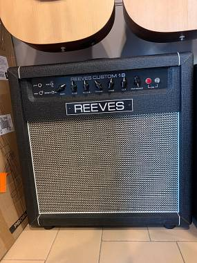 Reeves Custom 18 (Hiwatt) Made In USA RARO progettato da Bill Reeves + Cover