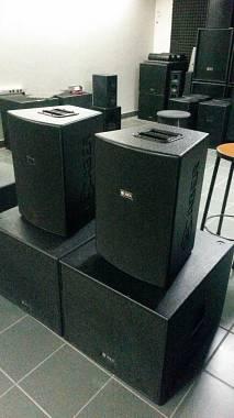 SISTEMA AMPLIFICATO CABER DSP3600 3600W 2 SATELLITI 600W+2 SUB 1200W byPOWERSOFT