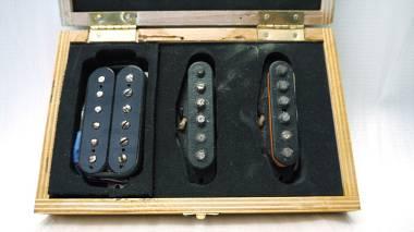 Flametone Pickups - Custom HSS Set 60s Stratocaster Heavily Aged - SPEDIZIONE GRATUITA