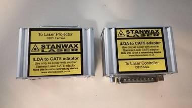 Adattatore ILDA CAT5 STANWAX laser interfaccia RJ45