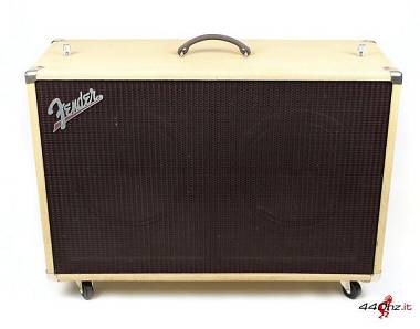 "Fender Super-Sonic 60 212 120W 2x12"" Supersonic Extension Cabinet Blonde"