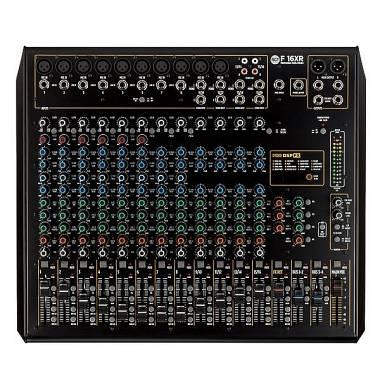 RCF  F 16XR  mixer 16 canali con effetti + USB