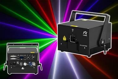 LASER FX-LASER L3000RGB PRO Line - 3 W MULTICOLOR - DMX/ILDA + FLIGHT