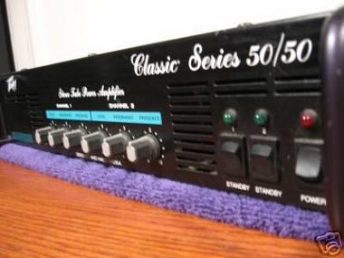 Peavey Classic 50/50 finale di potenza valvolare poweramp