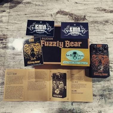 KMA Audio Machines Fuzzly Bear Silicon Fuzz - IN PRONTA CONSEGNA!