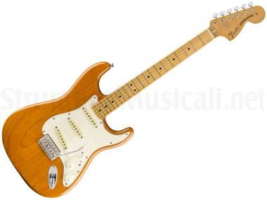 Fender Vintera 70s Stratocaster Mn Aged Natural - Chitarra Elettrica Naturale Invecchiata