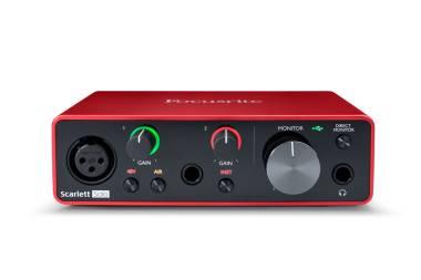 Interfaccia Audio USB Focusrite Scarlett Solo 2nd Generation Scheda Audio