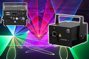 LASER FX-LASER L6000RGB PRO Line - 6 W MULTICOLOR - DMX/ILDA + FLIGHT