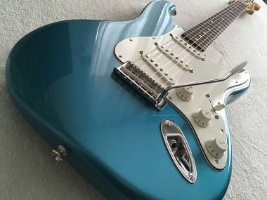 Fender Stratocaster Mexico Standard, Lake Placid Blue, RW, 2016