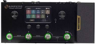 Hotone MP-100 Ampero Amp Modeler / Effects Processor /drum machine /looper IRs