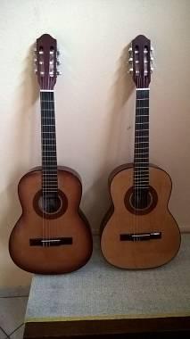 Chitarra classica artigianale modello Piccola