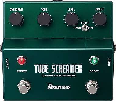 PEDALE EFFETTO PER CHITARRA IBANEZ - TS808DX TUBE SCREAMER OVERDRIVE + BOOSTER