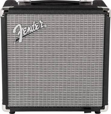 Fender - Rumble Bass 15 V3 Black/Silver