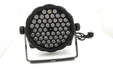 Slim PAR LED 54x3w RGBW SOS Lights