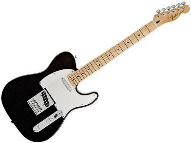 Fender Telecaster standard mexico BLACK MN