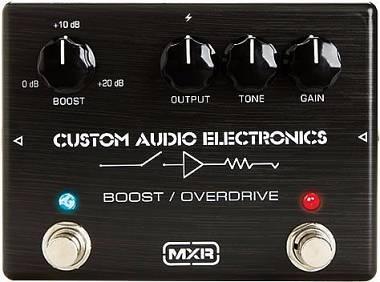MXR MC402 Boost/Overdrive - PEDALE BOOSTER / OVERDRIVE PER CHITARRA