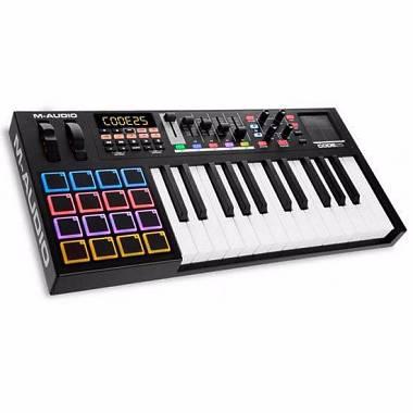 M-AUDIO CODE 25 BLACK TASTIERA MIDI USB 25 TASTI