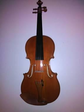 violino di liuteria costruito a Brescia nel 2018