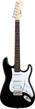 Squier - Stratocaster Bullet HSS Black